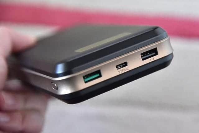 iMuto X6 Pro 本体 上部の側面