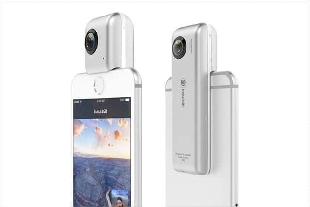 LINEにも簡単シェア!iPhoneが360度カメラになる『Insta360 Nano』発売。VR映像も簡単撮影。