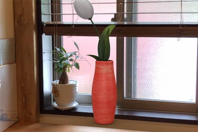 花瓶のAR