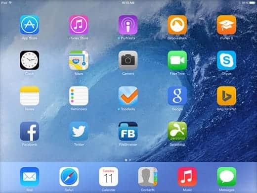 iOS 7 メール添付は危険