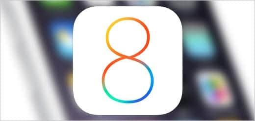 iOS 8 イメージ