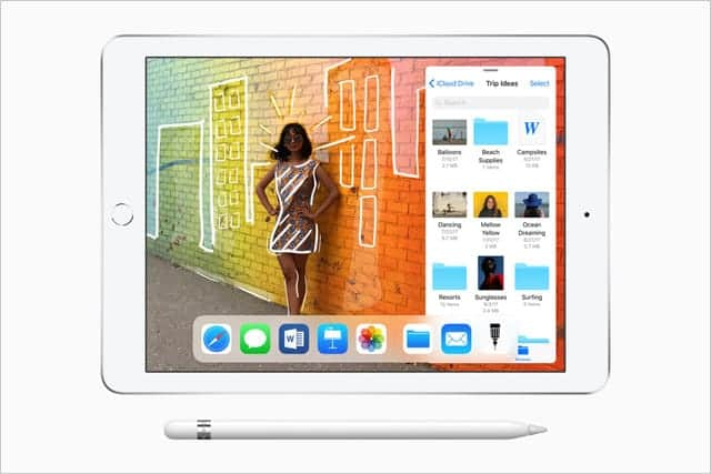Apple Pencil対応、新iPad発表