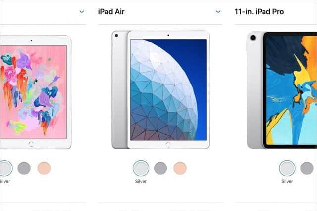 新iPad Air、2018年版iPad・iPad Proとの違いは