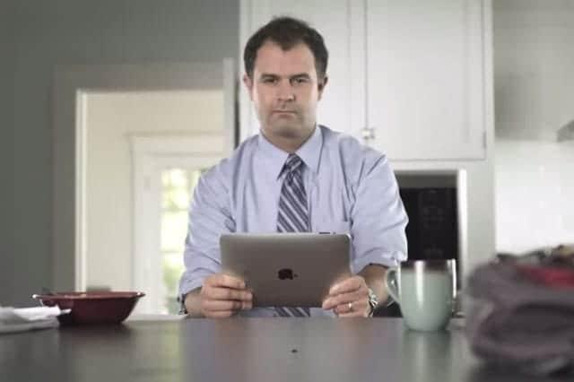 iPad NewsdayのCM