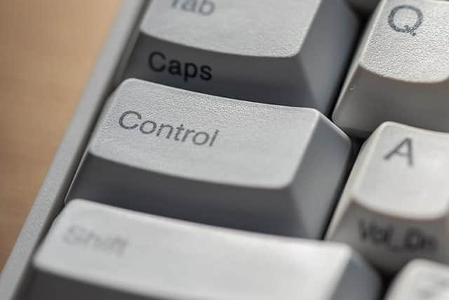 iPad版!Controlキーで自在にカーソルキーを操作する方法 Macより制限多め