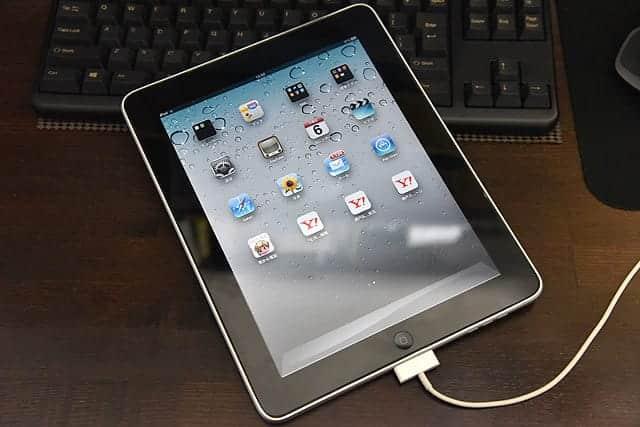 初代iPadの写真