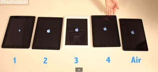 iPad 比較動画