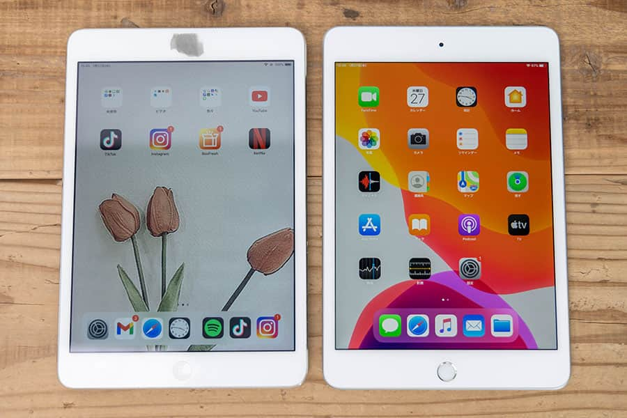 iPad mini 2と第5世代 比較まとめ