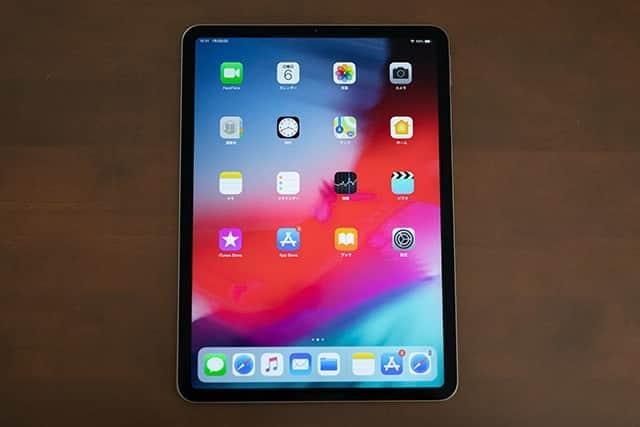 iPad Pro 起動完了