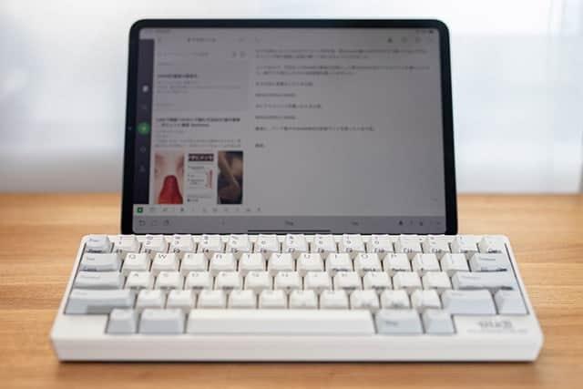iPad Proに外部Bluetoothキーボードを接続する方法 キーのリピートは要設定です