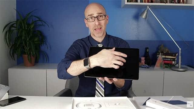 iPad Proの開封動画