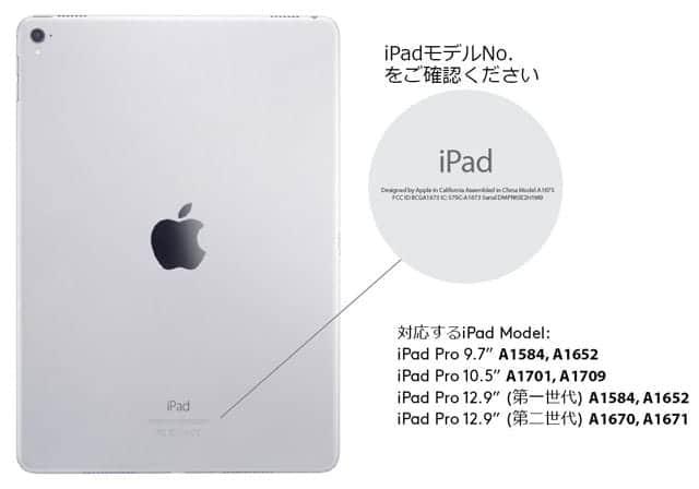 対応のiPad Proモデル