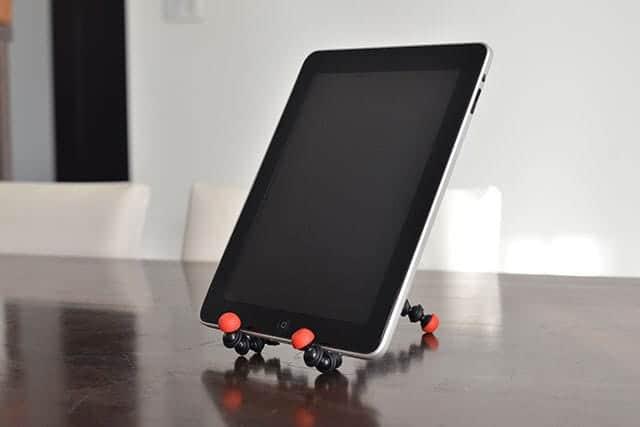 iPadとゴリラポッド