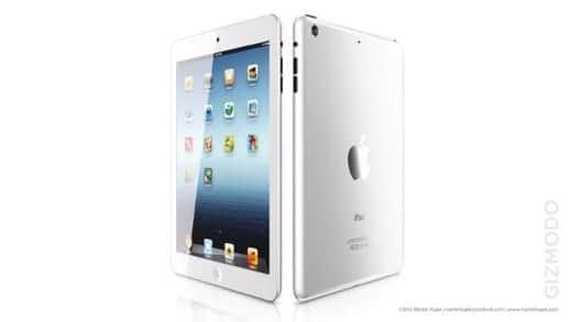 iPad mini 噂 ホワイト
