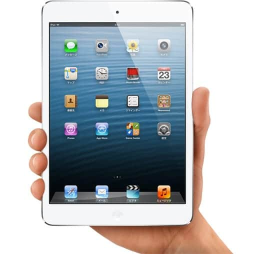 iPad mini はRetinaじゃないよ