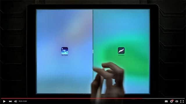 iPad Pro 新CM マルチタスキング機能のSplit View