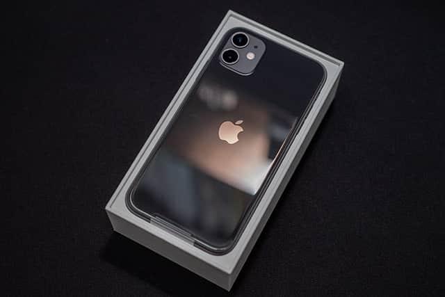 背面のガラスがきれいなiPhone 11