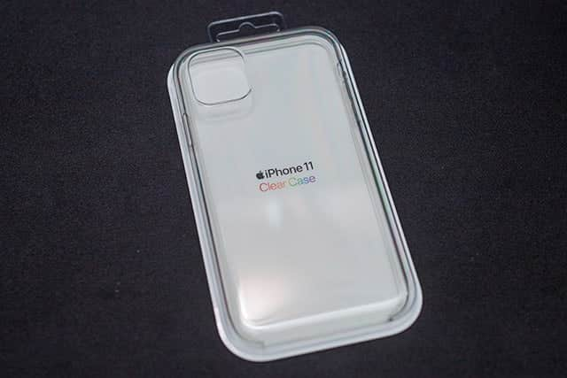 iPhone 11 クリアケース レビュー