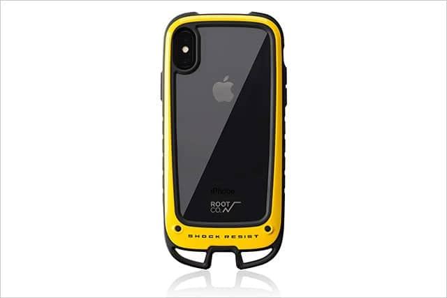 高さ122cm、26方向の落下試験にクリア!アウトドアでガンガン使えるiPhoneケース