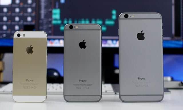 iPhone ラインナップ写真