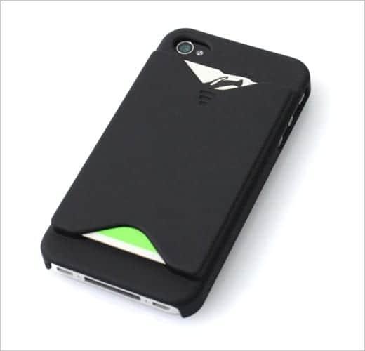 iPhoneがおサイフケータイになるケース カード収納時