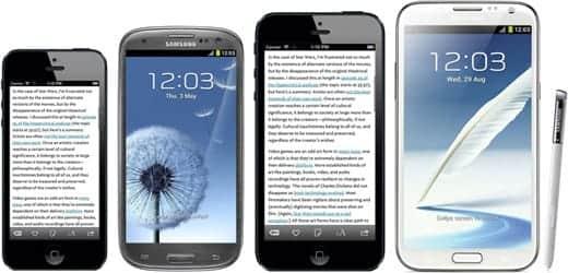 iPhone 6は液晶が大きくなり5インチ液晶搭載?