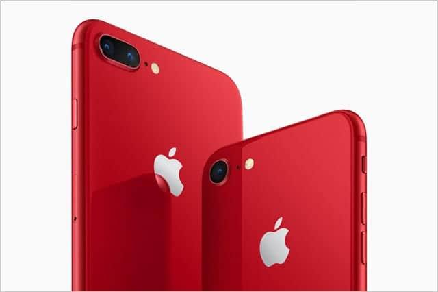 iPhone 8/Plusに新色RED登場