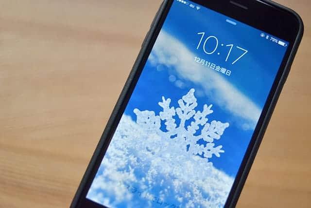 冬だからiPhoneの壁紙も冬景色に!クリスマス・雪・結晶の壁紙サイト厳選5つ。