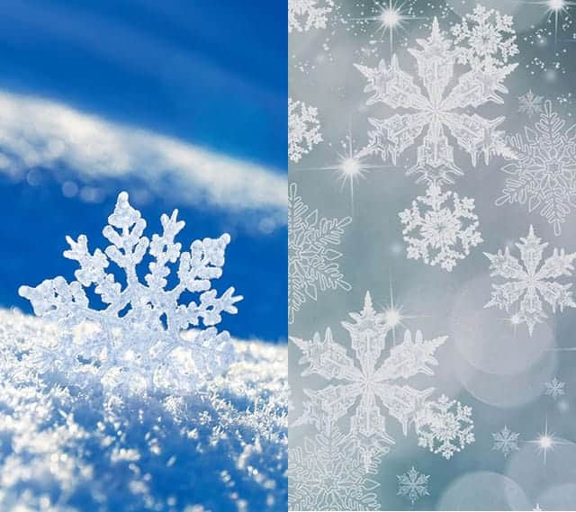 iPhone壁紙 雪の結晶 - NAVER まとめ オススメ2枚