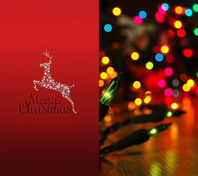 Festive Christmas wallpapers for iPhone and iPad オススメ2枚