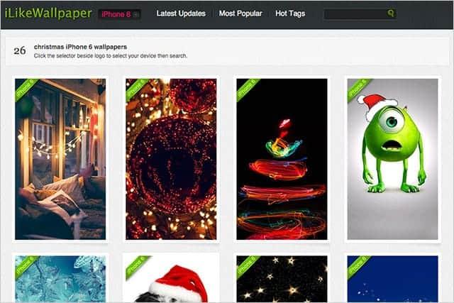 iLikewallpaper.netのクリスマス壁紙