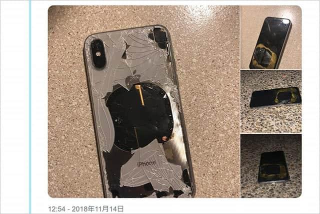 iPhone X、iOS 12.1アップデート直後に爆発