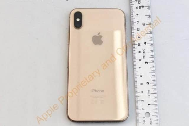 iPhone X ゴールド計画
