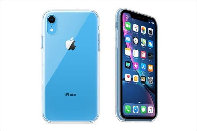 Apple公式 iPhone XR用クリアケースが登場