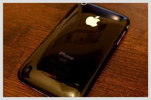 iPhone 3G の裏面写真