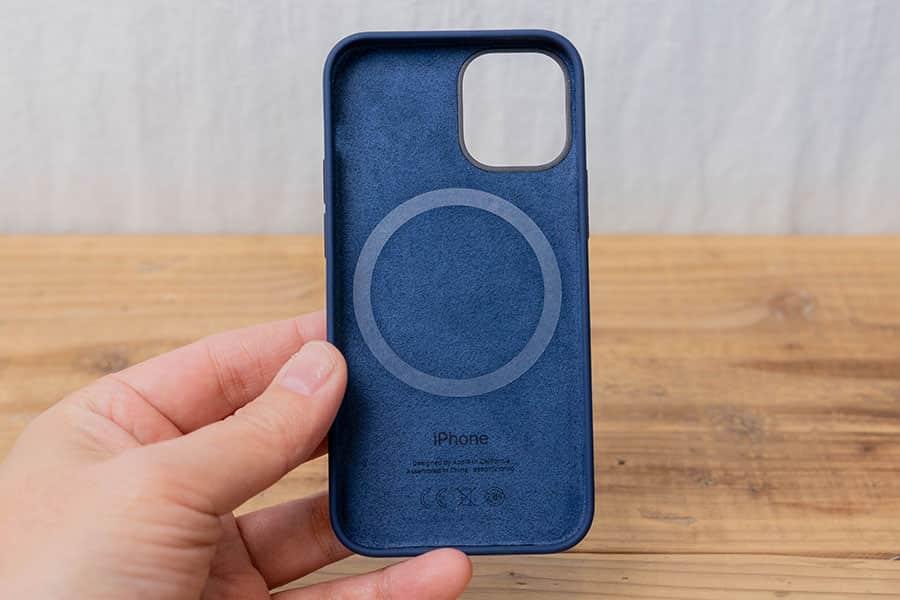 iPhone 12 mini シリコーンケース ディープネイビー レビュー