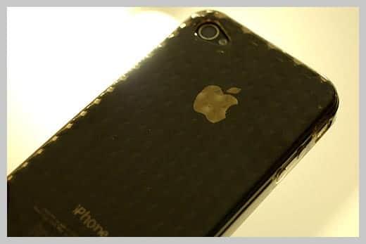 iPhone4 TPUケース 背面ダイヤパターン