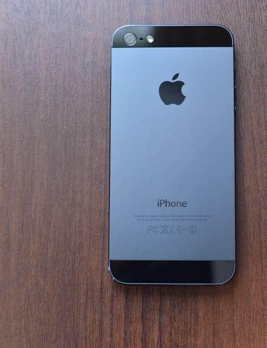 iPhone 5 背面