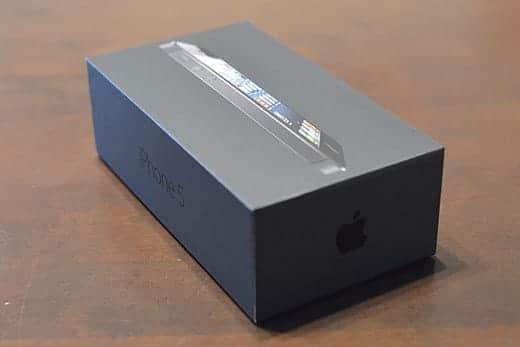 iPhone 5 箱
