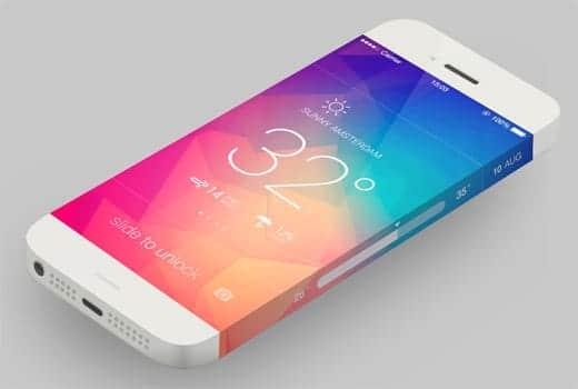 iPhone 6 コンセプト画像2