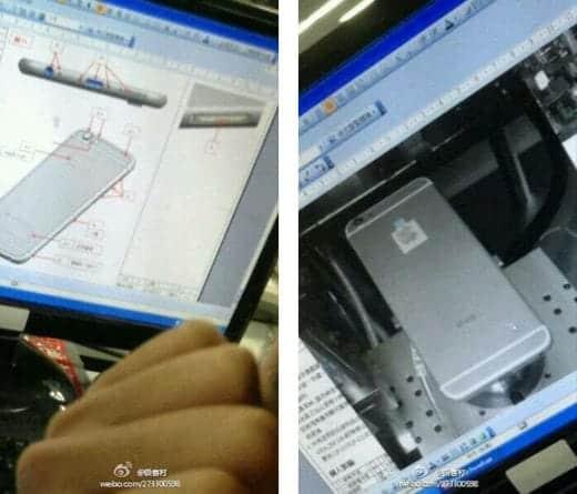 iPhone 6 工場からの流出画像?