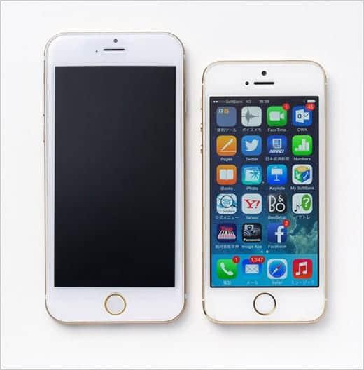iPhone 6 4.7インチ 前面パネル