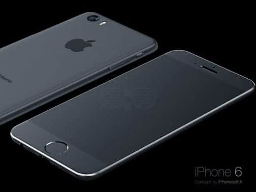 iPhone 6 背面も
