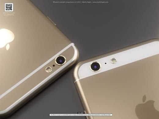 iPhone 6のデザインはどっち?