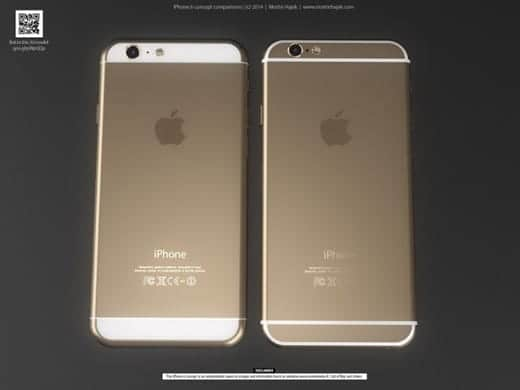 iPhone 6 背面全体の写真