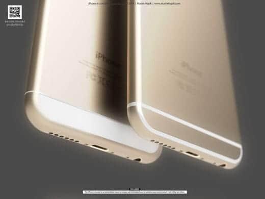 iPhone 6 スピーカー部分