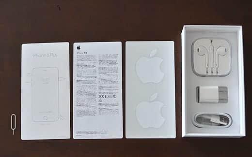iPhone 6 Plus 内包物一覧