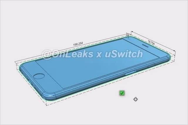 iPhone 6s / 6s Plus のレンダリング動画が流出