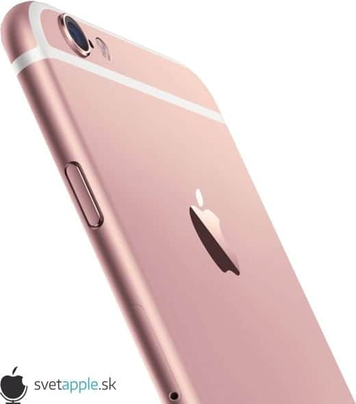 iPhone 6S ローズゴールド 背面