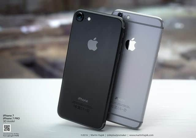 iPhone 7 スペースブラック(render) かっくいい!